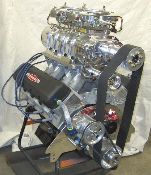 632 Big Block Chevy Blown Drag Racing 1500 HP - Hekimian Racing Engines