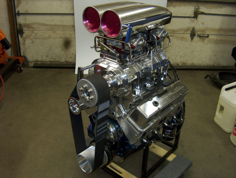 400 Small Block Chevy Supercharged Performance Street / Strip 650 HP