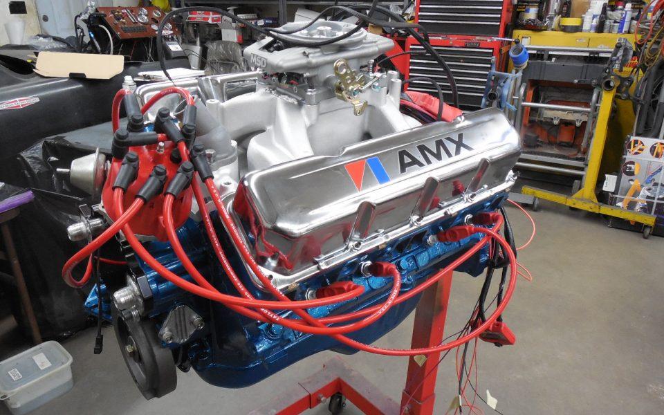 390 cid AMC 400 HP